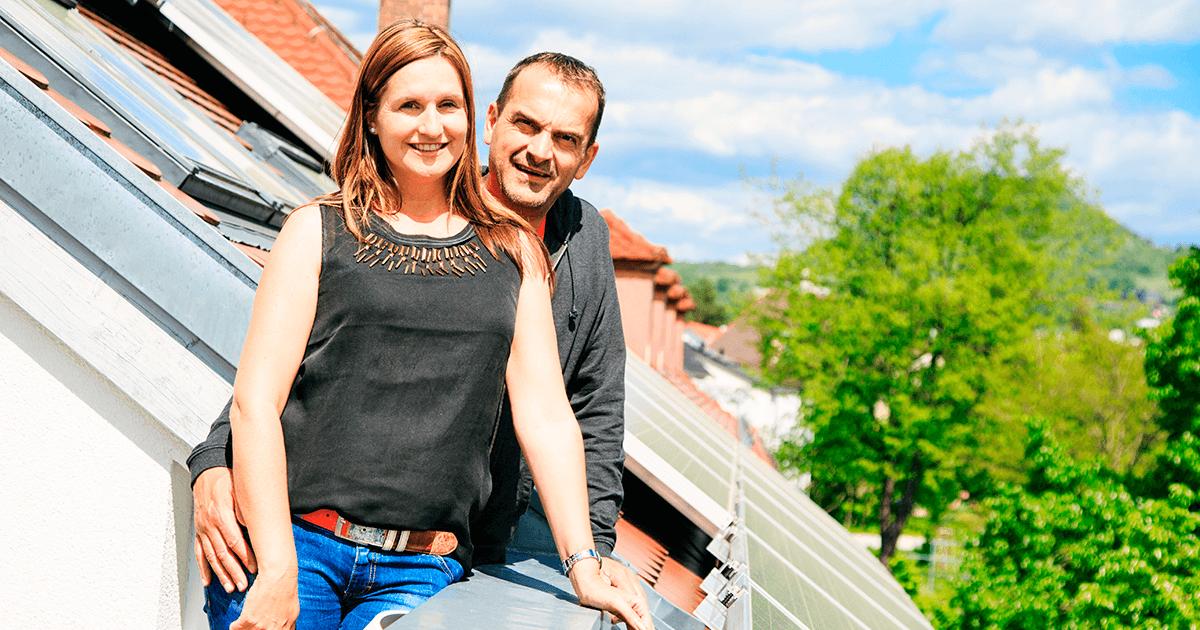 Paneles solares en el hogar